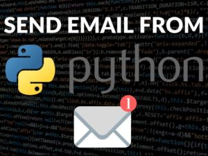 Send email from Python