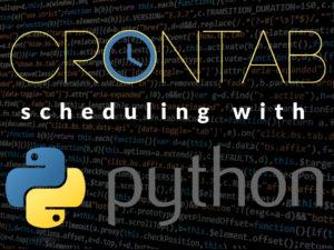 Schedule a Python script with crontab