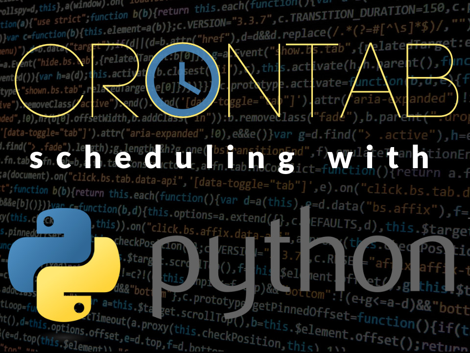 Schedule a Python script with crontab