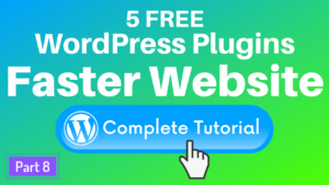 5 Free Wordpress Plugins to Speed Up Your Website with Caching & Image Optimization