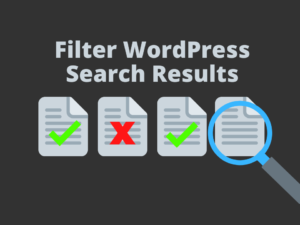 Search posts only in WordPress