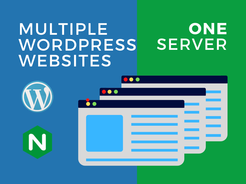 Multiple WordPress websites on one server tutorial