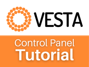 Vesta Control Panel tutorial