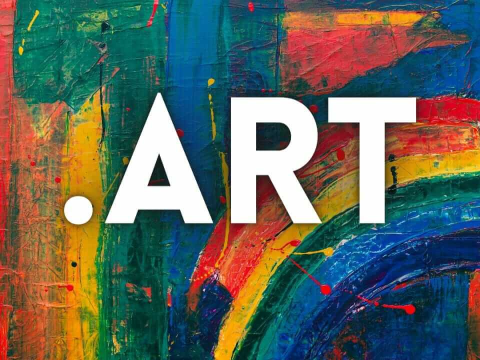 .art top-level domain name extension