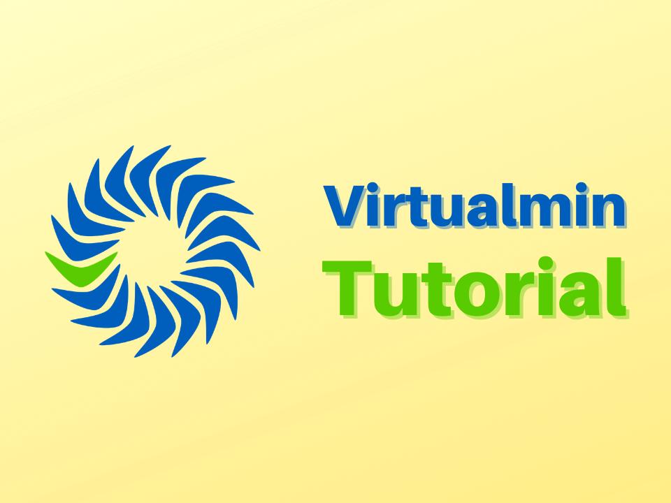 Virtualmin installation tutorial