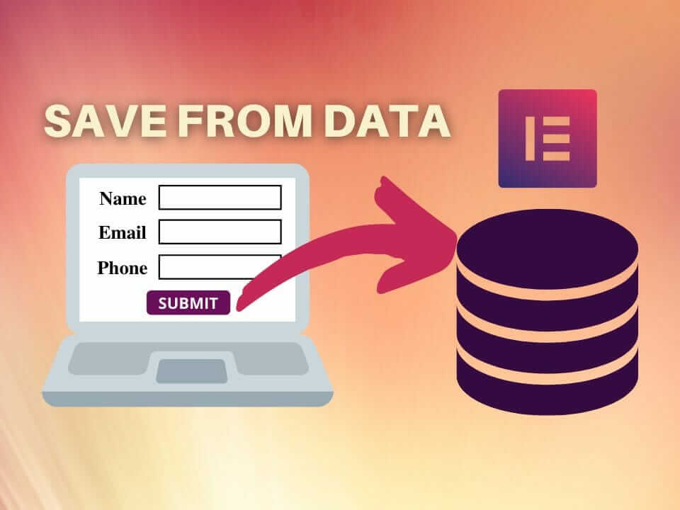 Save form data Elementor