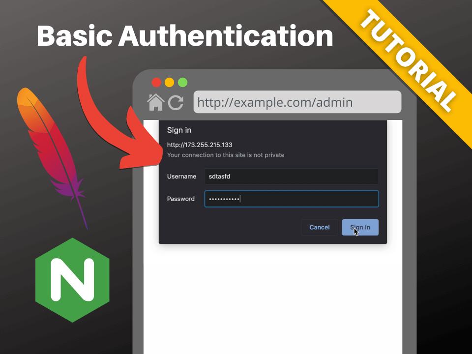 Basic auth on Apache and Nginx
