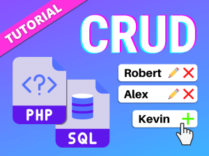 CRUD tutorial with PHP and MySQL