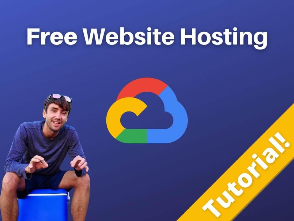 Free website hosting tutorial on Google Cloud Platform