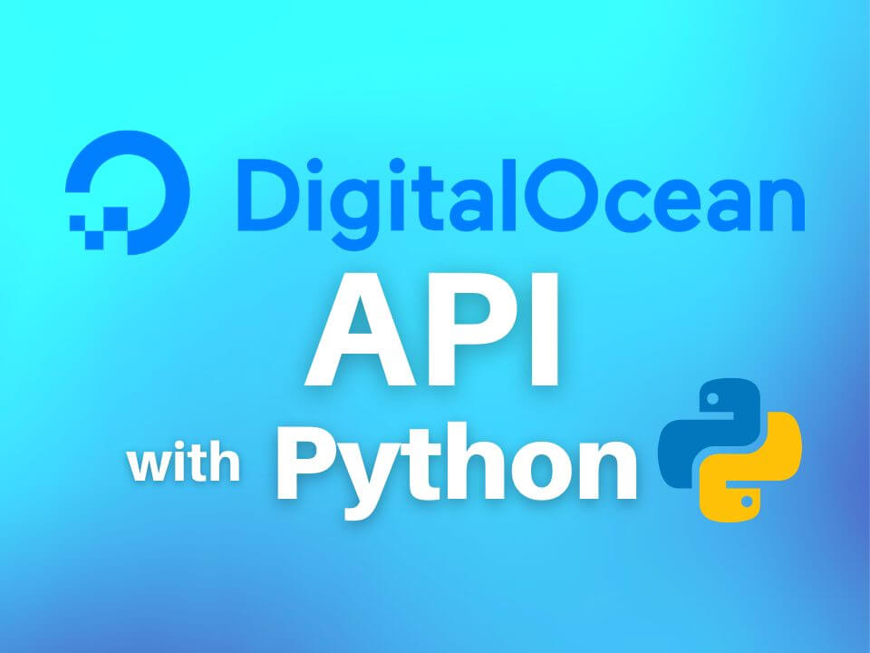 DigitalOcean API with Python