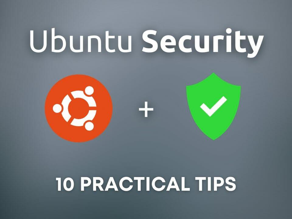 Ubuntu security tips