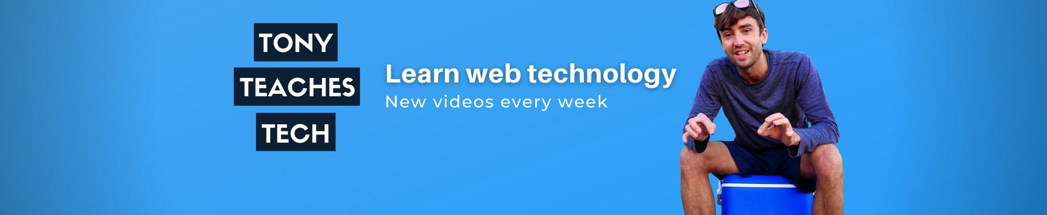 Tony Teaches Tech YouTube channel banner